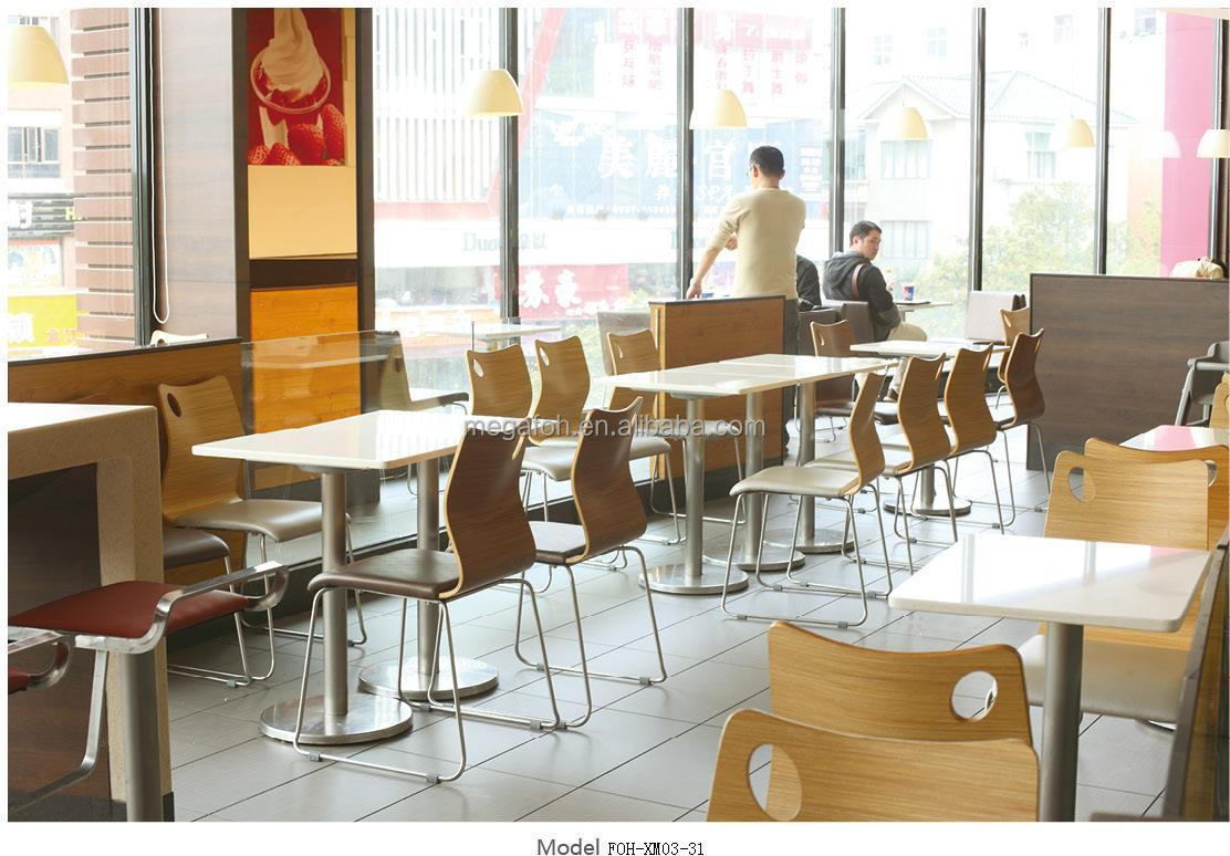 Factory directly wooden coffee shop restaurant furniture