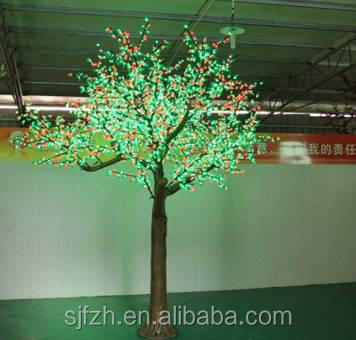New style green LED cherry fruit tree, LED tree for outdoor decoration