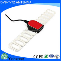 Indoor Digital TV Antenna 12dBi High Gain Full HD 1080p VHF / UHF DVB-T-Aerial IEC Connector for DTV / TV