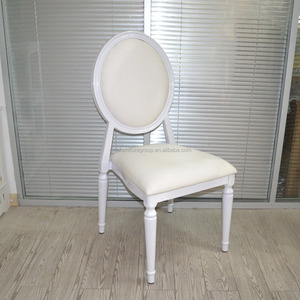Wholesales modern stacking metal white event rental wedding louis chair for sale