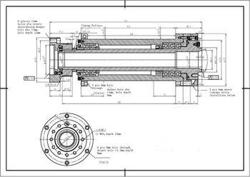 Ck 6136x A2 5 Cnc Belt Drive Lathe Spindle For Cnc Lathe