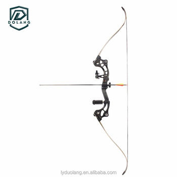 Dolang Recurve Bow Aluminum Alloy Riser Maple Limbs Draw Weight 35