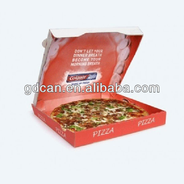 Custom Design Bulk Cheap Paper Packaging Pizza Box Wholesale