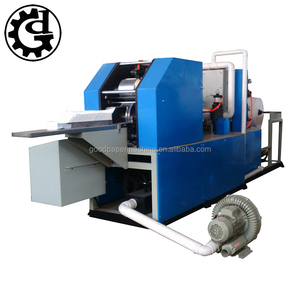 Automatic color printing L folding napkin tissue paper machinery