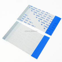 Flat LVDS ffc cable 40pin 30pin 20 pin flat ribbon cable for repair