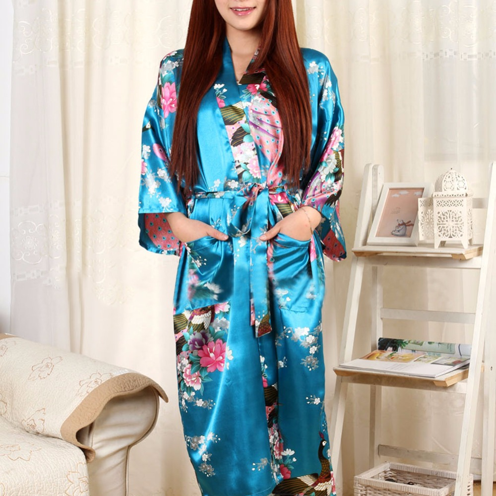 2019 Wholesale Pajamas Bathrobe And Belt Pajama Women Japanese ... b35507fc4
