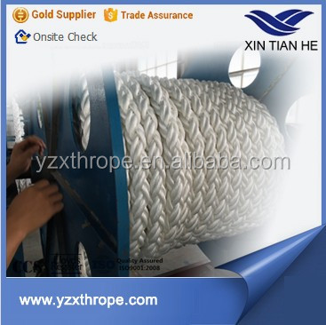 Boat Accessories 3 inch Diameter Polyester Marine Rope