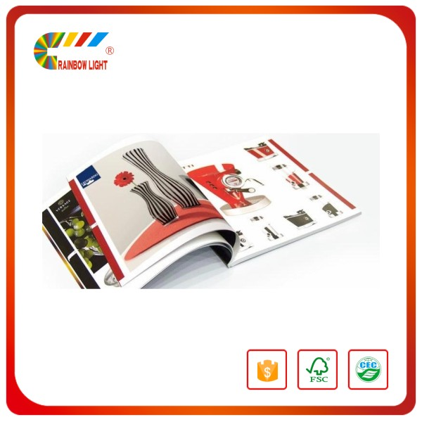 Offset printing laminated Paper map / tourism instruction book
