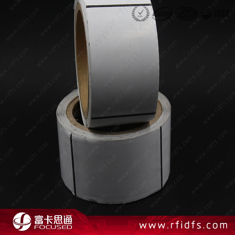 Factory price paper programmable ntag216 RFID sticker roll