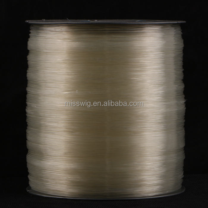 Hair Extension Tools Transparent Elastic Crystal Thread Elastic TPU thread