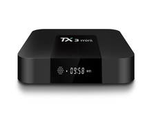 Full HD 1080P Porn video TX3 Mini Android TV Box with Google Play Store App Free Downloaded