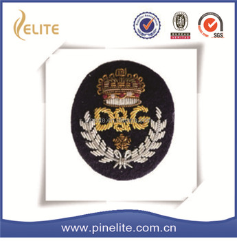 2017 new good different designs hand embroidery badges,cloth badges for kids