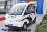 New energy electric police patrol car