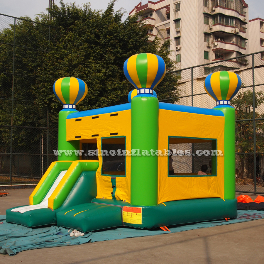Commercial inflatable balloon combo castle