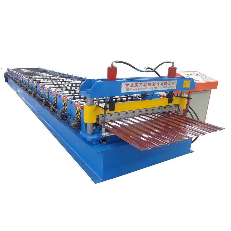 Zinc Corrugated Roofing Sheet Making Machine