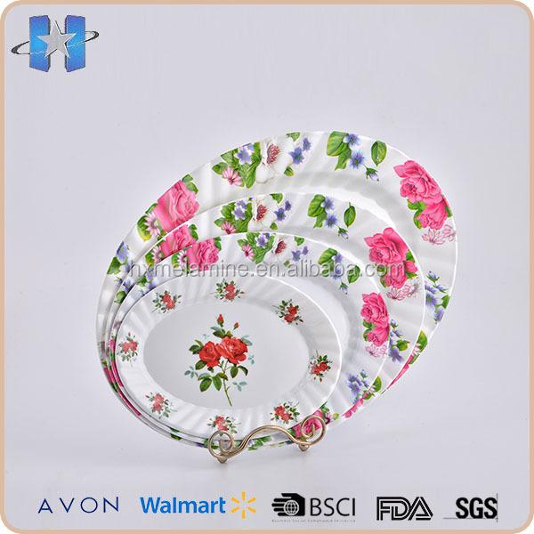 Dishwasher safe handmade decal a set melamine oval dinner plates  sc 1 st  Alibaba & China Dinner Plate Oval Wholesale 🇨🇳 - Alibaba