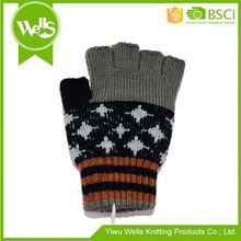 New product unique design acrylic gloves & mittens winter with different size
