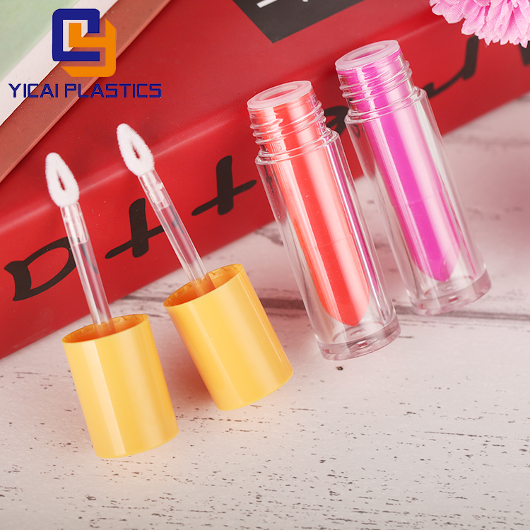 DIY Empty Lipstick Bottle Lip Gloss Tube Lip Balm Tube Container With Cap Gold Cosmetic Sample Container