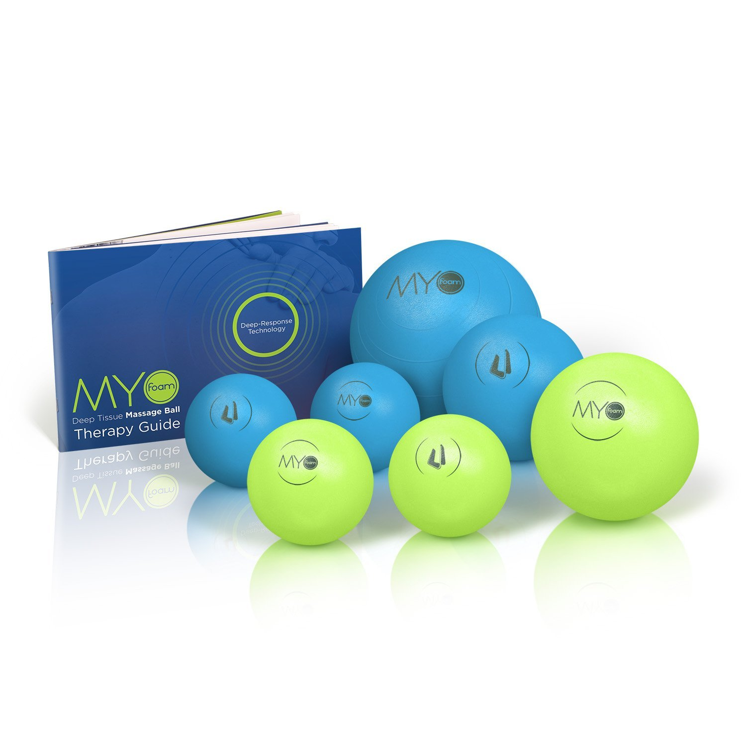 Deep Tissue Massage Balls with Myofoam for Trigger Point Therapy