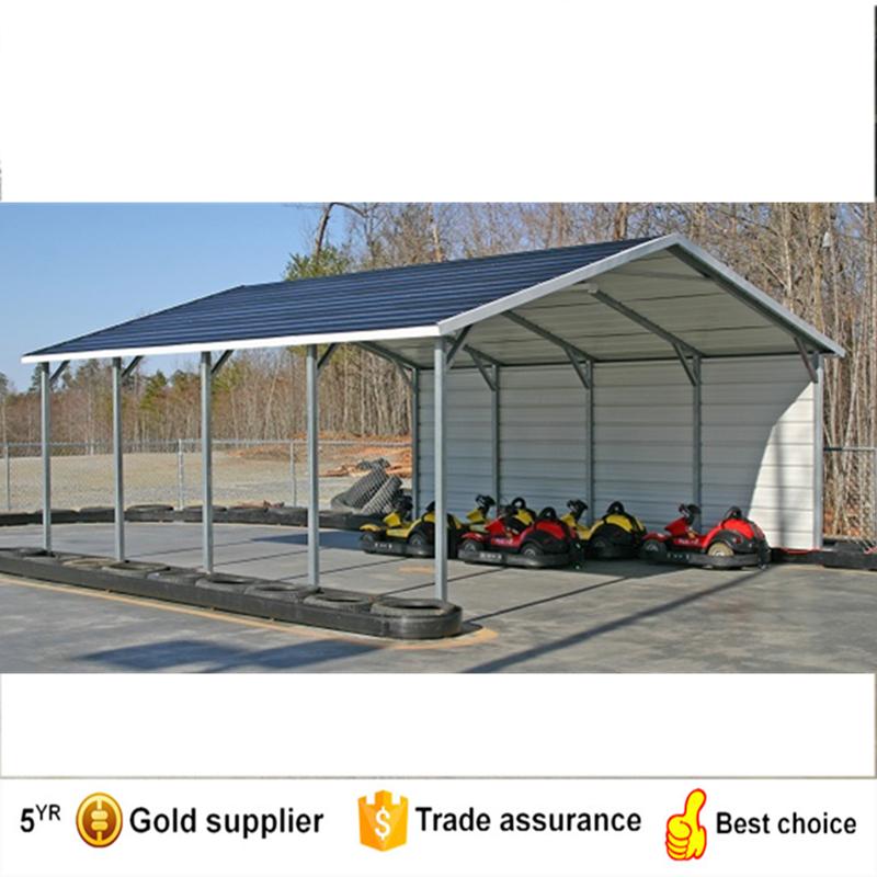 Est ndar cubierta metal cochera y marquesina de metal para - Garajes de metal ...