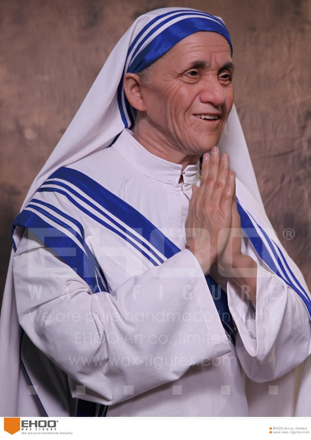 India Female Celebrity Mother Teresa Wax Statues Buy Wax