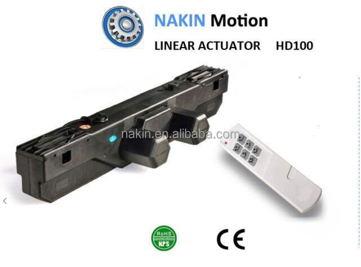 Dual Actuator With AC Motor For Electric Adjustable Bed