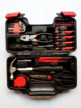 39pcs Diy Tool Kit Homeowner Set House