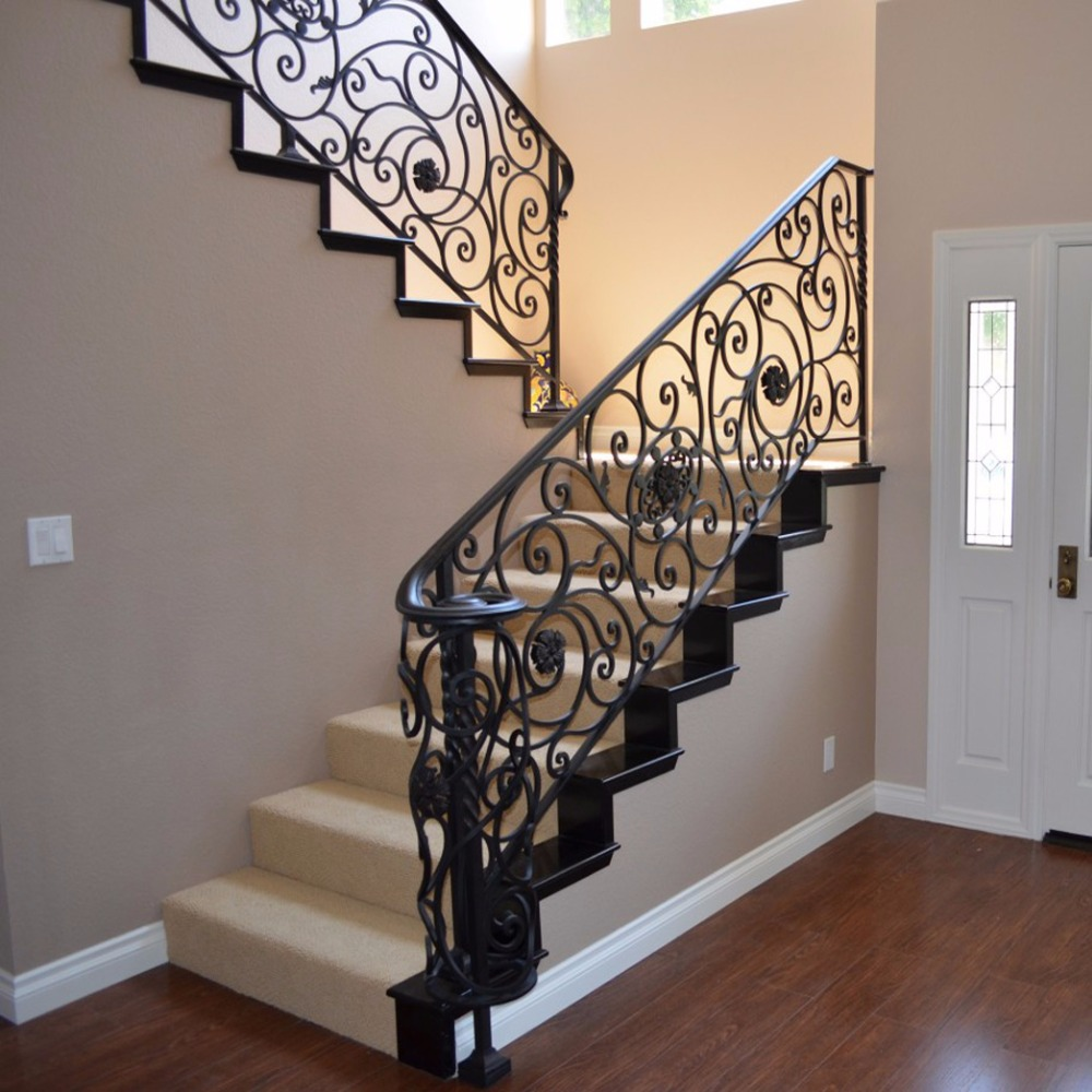 Alibaba Modern Balusters Acoustic Barrier Home Stair