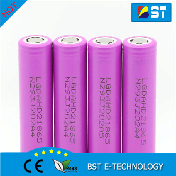 3.7V drained battery 18650 LG HD2 2000mAh 25A Max. Discharge lead acid batteries 18650 Bulk buy