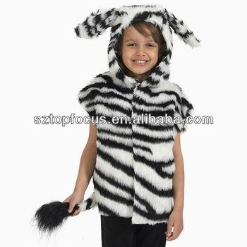Funny zebra Faux Fur Animal fancy dress children christmas costume  sc 1 st  Alibaba & Funny Zebra Faux Fur Animal Fancy Dress Children Christmas Costume ...