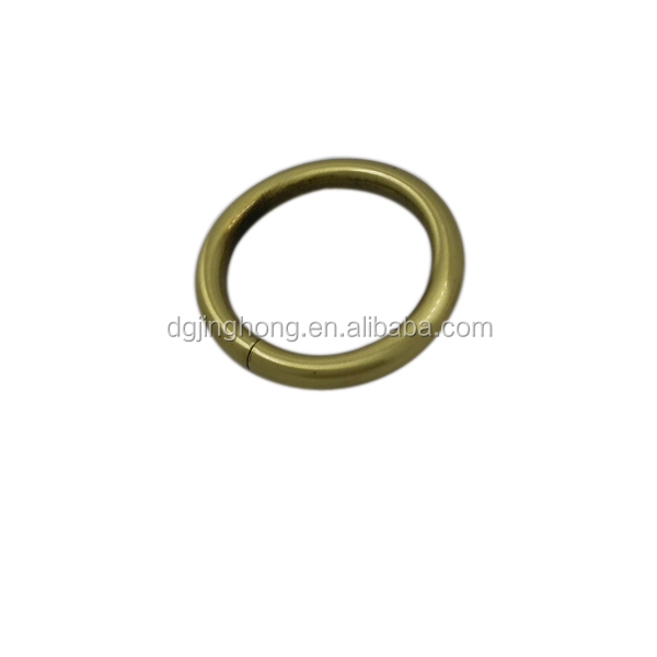 Handbag hardware cheap wholesale metal O ring buckle