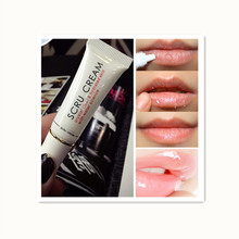Collageen rose essentie Lip <span class=keywords><strong>Scrub</strong></span> 11.5g Lip Care Propolis Lip Keratine Gel Exfoliërende Crème afscheid om dode huid
