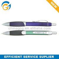 Rubber Grip Click Clip Ball Pen