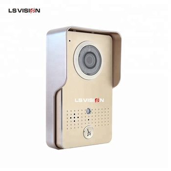 LSVISION Cheap Metal Smart Home Intercom WiFi Video Phone Wireless Doorbell with Motion Detection