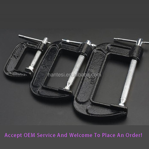 Heavy duty Woodworking and Welding Metal G Clamp