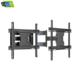 Lcd tv wall mount parts telescopic tv mount for 40''-70''inch up to 68.2kg vesa 200*100-600*400