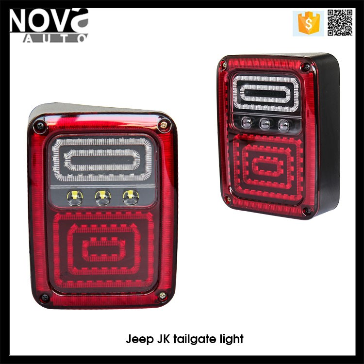 07-16 JK Used Jeep Rear Lights Come in Pair 8inch Led Lights Jeep Wrangler
