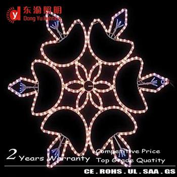 Led Big Snowflake Light Outdoor Color Changing Led Christmas ...