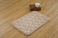 Fashion Custom Triangle Memory Foam New floor mat from factory