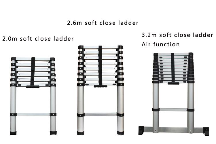 En131 sgs 4*4 4 6 mt multifunktions leiter teleskopleiter preise