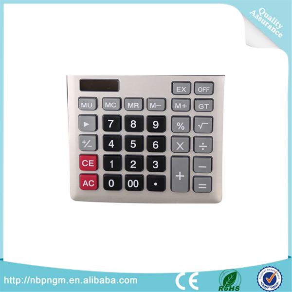 Wholesale Office Stationery 12 Digits Two Way Power Electronic Exclusive Calculator Money