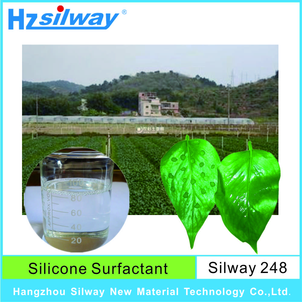 100% active ingredient Silway 248 high quality Agricultural silicone additives with best price