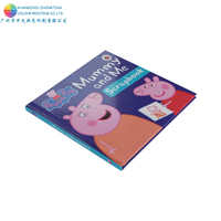 Manufacturer kids educational famous cartoon board book printing