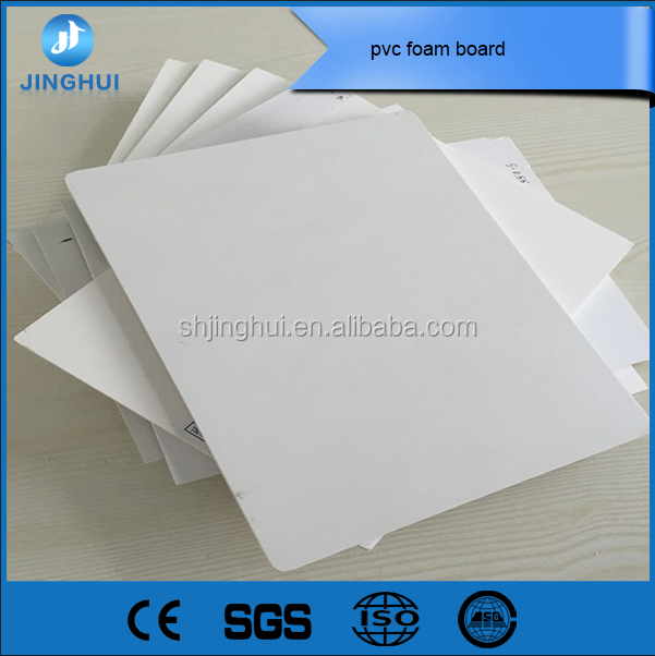 1.22*2.44m recycled die cut pvc foam board