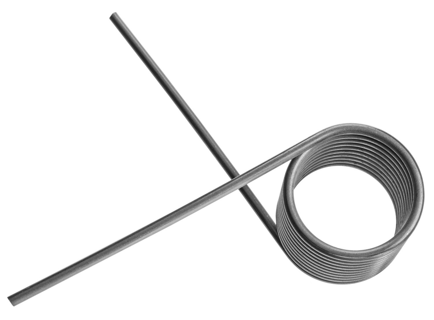 x 1-3//4 in .250 in White x 32 in. Prime-Line Products GD 12231 Garage Door Torsion Spring Left Hand Wind