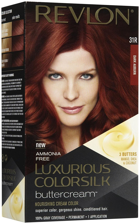 Get Quotations Revlon Colorsilk Luxurious Ercream Dark Auburn