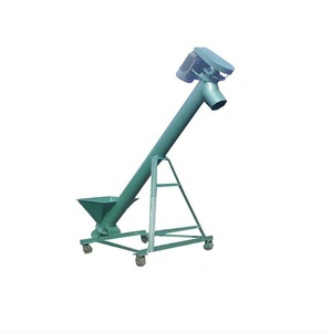 Hot sale hopper Inclined auger screw conveyor feeder price