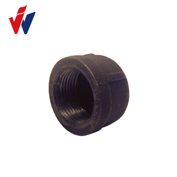 Cast Iron Cap Baked Galvanized Cap Malleable Iron Pipe Fittings - Buy Baked  Galvanized Cap Malleable Iron Pipe Fittings,Cast Iron Cap,Pipe Fitting Cap