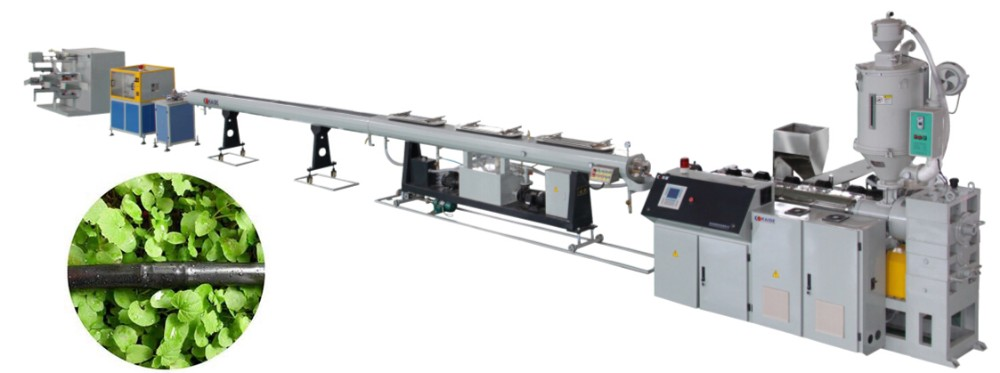 Inline Emitter Drip Irrigation Tube Extrusion Machine