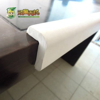 Foam indoor edge cover rubber desk edge protector buy for Plastic furniture covers indoor